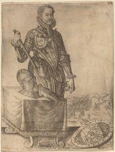 Christoffel van Sichem I after Hendrik Goltzius, 'William of Nassau, Prince of Orange'