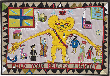 Grayson Perry, 'Hold Your Beliefs Lightly', 2011