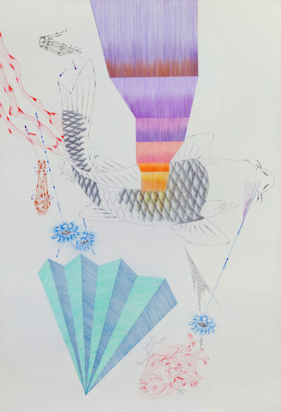 Malu Saddi, 'Para que eu me recorde dos segredos das águas /So I can remember the secrets of the waters', 2013
