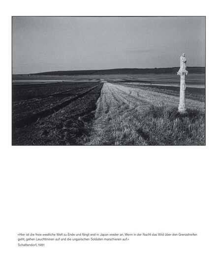 Seiichi Furuya, 'Staatsgrenze 1981-1983 (Schattendorf)', 2016