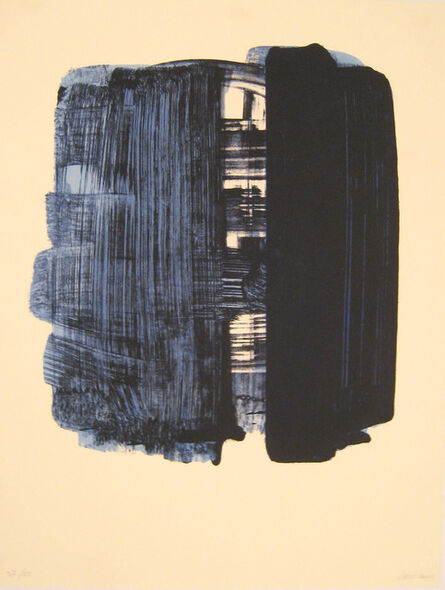 Pierre Soulages, 'Lithographie n°33', 1974