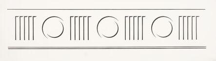 Roy Lichtenstein, 'Entablature #11', 1971