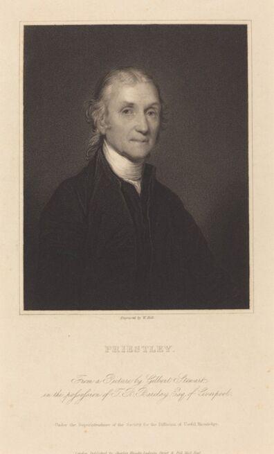 William Holl I after Gilbert Stuart, 'Priestley'