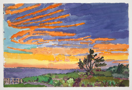 Graham Nickson, 'Sunrise I: Nantucket', 2013