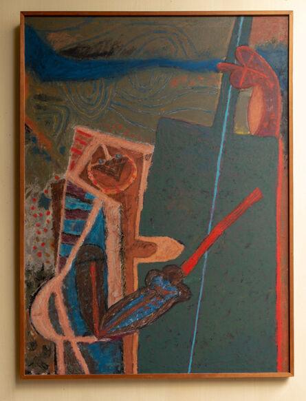Rodolfo Nieto, 'Musico tocando el violonchelo', 1979