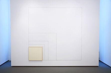 Hartmut Böhm, 'Wall Work from the Measurements of a Progression to Infinity with 15°', 1996-2014