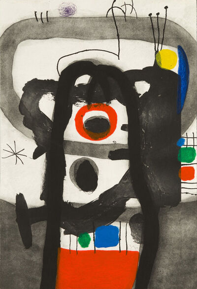 Joan Miró, 'The Angry One', 1967