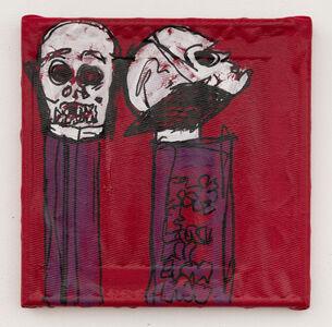 Lance Rautzhan, 'Untitled (Death Candy Dispenser)', 2021