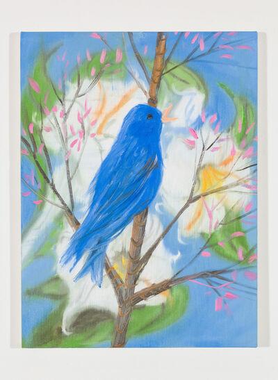 Ann Craven, 'Portrait of a Blue Bird (Picabia Bird), 2018', 2018
