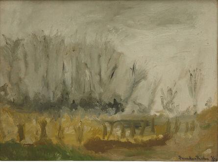 Helen Frankenthaler, 'New Jersey Landscape', 1952