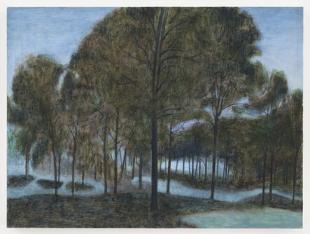 Ron Milewicz, 'Pond and Meadow', 2017