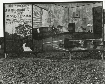 Walker Evans, 'Furniture Store Sign near Birmingham, Alabama', 1936