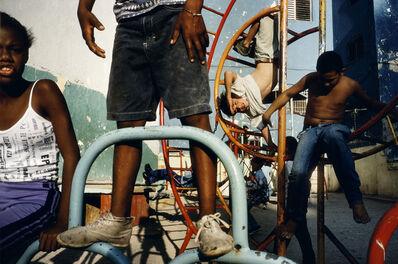 Alex Webb, 'Children playing in a playground. Havana. Cuba. ', 2000