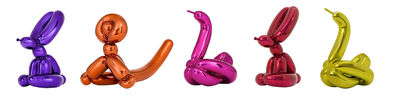 Jeff Koons, 'Balloon Animals (set of 5)'