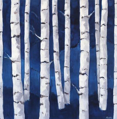 Beth Munro, 'Birch Study Indigo', 2018