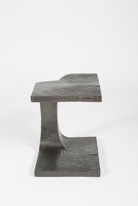 Stefan Bishop, 'Carved Side Table', 2015