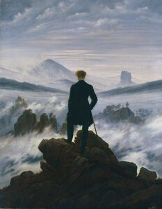 Caspar David Friedrich, 'Wanderer above the Sea of Fog', ca. 1817