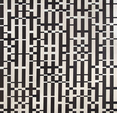 Michael Kidner, 'Black and White Wave Recording', 1973