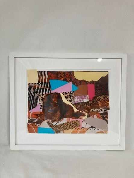 Mickalene Thomas, 'Portrait of Dachshund', 2012