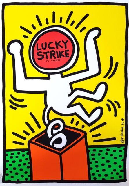 Keith Haring, 'Lucky Strike II', 1987