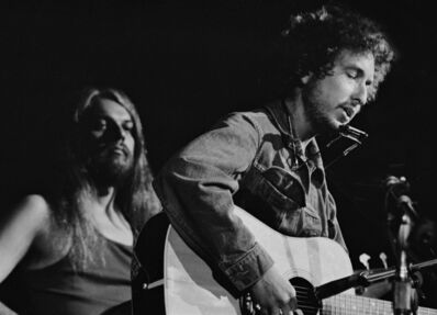 Graham Nash, 'Bob Dylan and Leon Russell at the Concert for Bangladesh, 1971', 1971