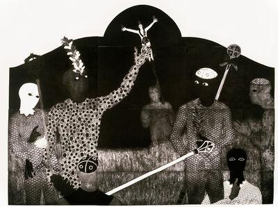Belkis Ayón, 'La consagración III (The Consecration III)', 1991