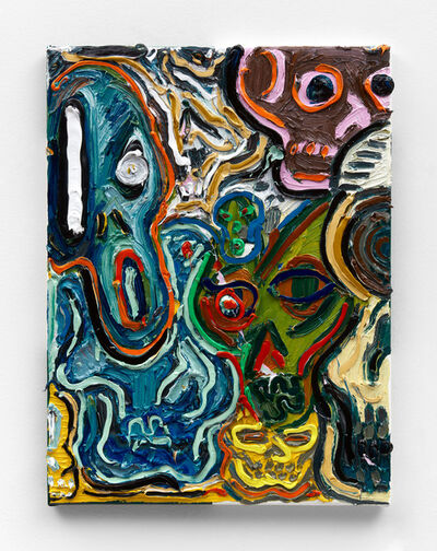 Alex Becerra, 'Skull Pile VII', 2021