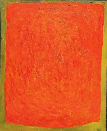 Rex Ashlock, 'Red on Green', 1964