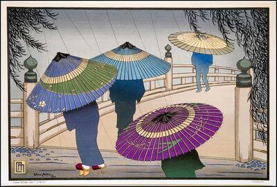 Lillian Miller, 'Rain Blossoms in Japan', 1928