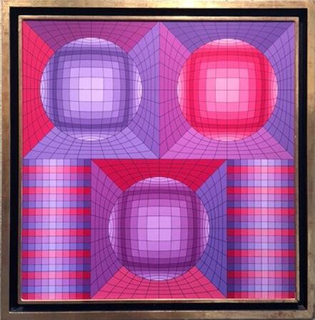 Victor Vasarely, 'Aubouda', 1985