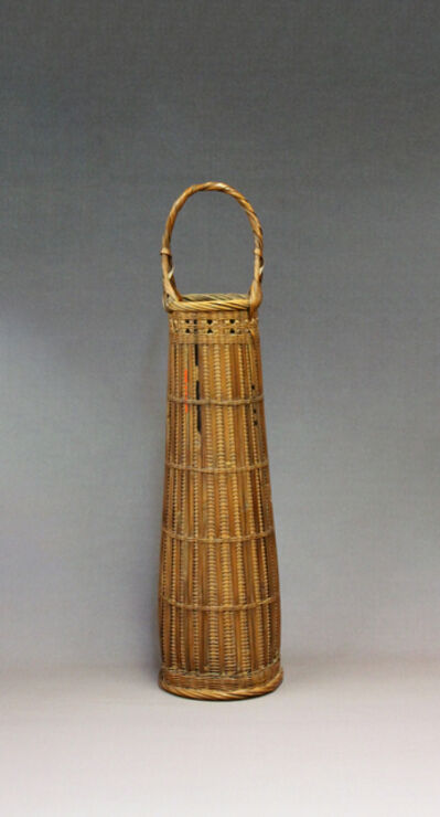 Tanabe Chikuunsai I, 'Flower Basket with Ceremonial Arrows', 1922