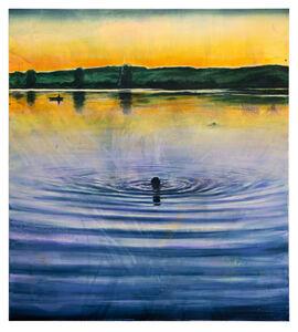Till Gerhard, 'Nachtschwimmer', 2020