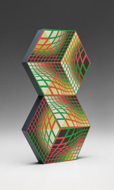 Victor Vasarely, 'Kettes', 1988