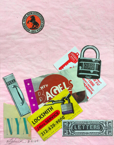 Nathan Gluck, 'Bagels and Locks', 2004