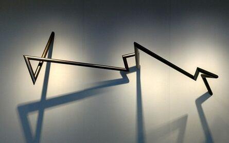 Robert Mangold (b. 1930), 'PTTSAAES 8-08', 2008
