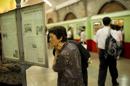 Ari Hatsuzawa, 'Platform of the Pyongyang City Subway', 2011
