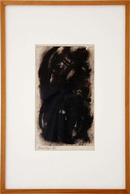 Montez Magno, 'Série Negra', 1961
