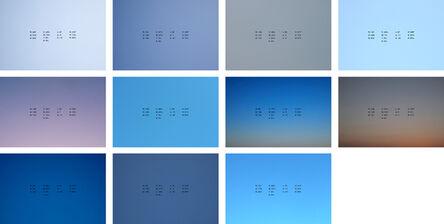 Ignasi Aballí, 'Color del aire', 2011