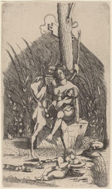 Master of 1515, 'Satyr's Family', ca. 1510/1515