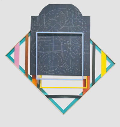 Andrew Lyght, 'Painting Structures P340', 2018-2019