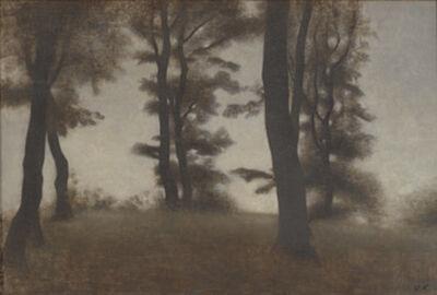 Vilhelm Hammershøi, 'Tree Trunks. Arresødal near Frederiksbærk, North Zealand'