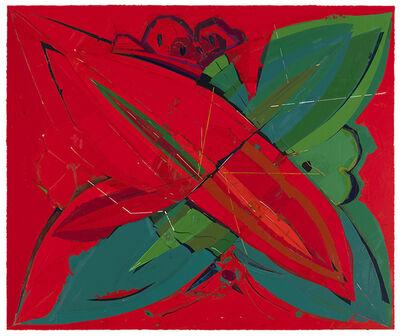 Fu Meijun 付美军, 'A Butterfly Upside-down', 2015