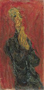 Chaim Soutine, 'L'Homme en Priere. (The man in Prayer)', 1921-1922