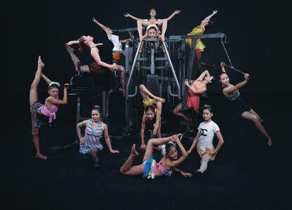 Wang Qingsong, 'Happy Bodybuilders', 2013