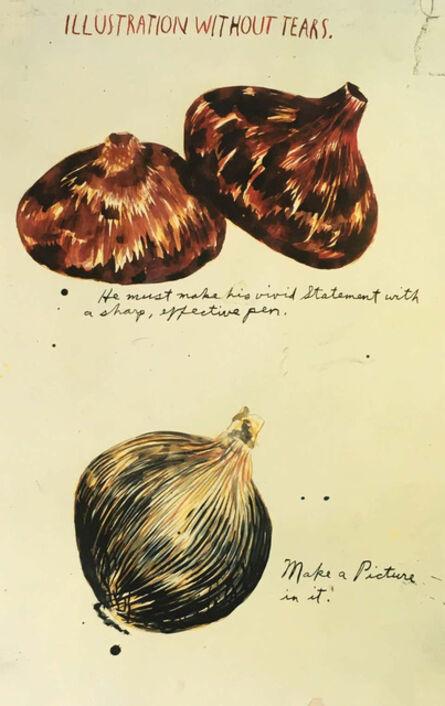 Raymond Pettibon, 'Raymond Pettibon (untitled) 'Illustration Without Tears' (set of 3 posters) ', 2003