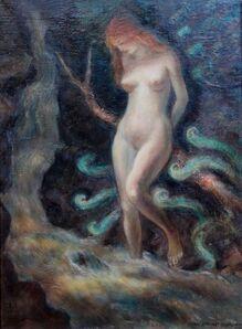 John Steuart Curry, 'Nude in a Waterfall', 1941