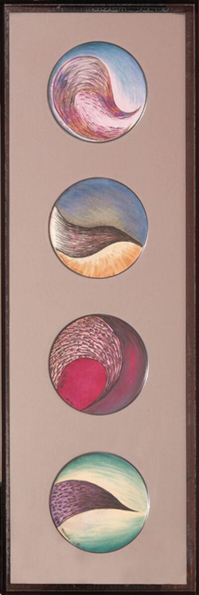 Judy Chicago, 'Tender Buttons: Tearful Flight/Trying/So Flight/Missing', 1975