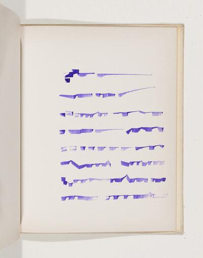 Mirtha Dermisache, 'Livre 3', 1970