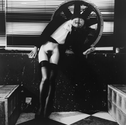Helmut Newton, 'Violetta At The Bains-Douches, Paris', 1979