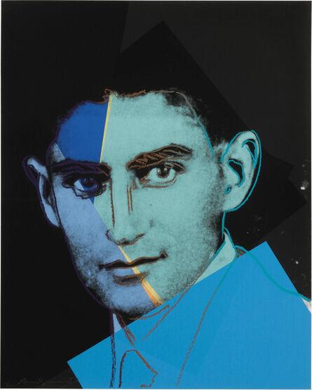 Andy Warhol, 'Franz Kafka (F. & S. II.226)', 1980